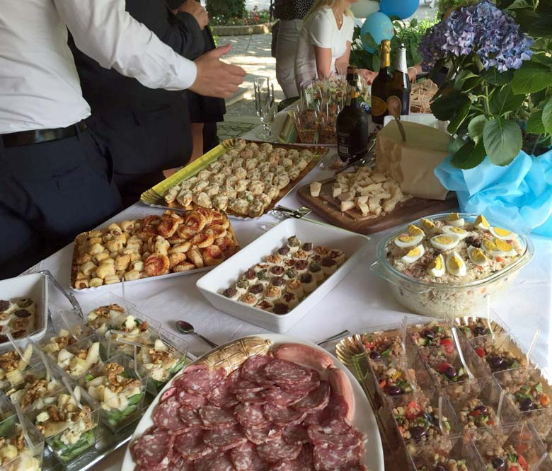 Rinfresco - catering comunione