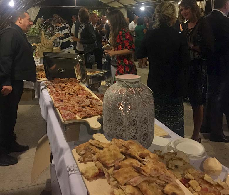 Wedding pizza - Catering matrimonio